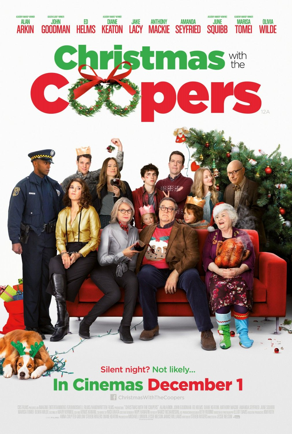 """It wasn't called """"Christmas with the Coopers"""", it's """"Love"""