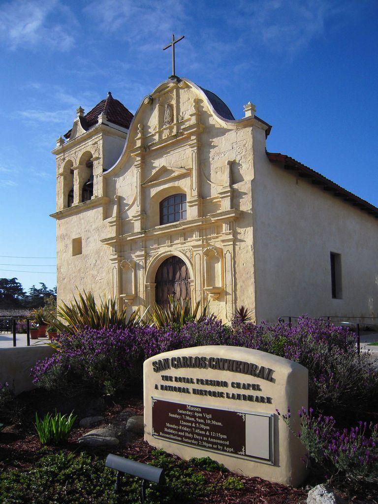 San Carlos Cathedral, Monterey, CA San carlos, Monterey