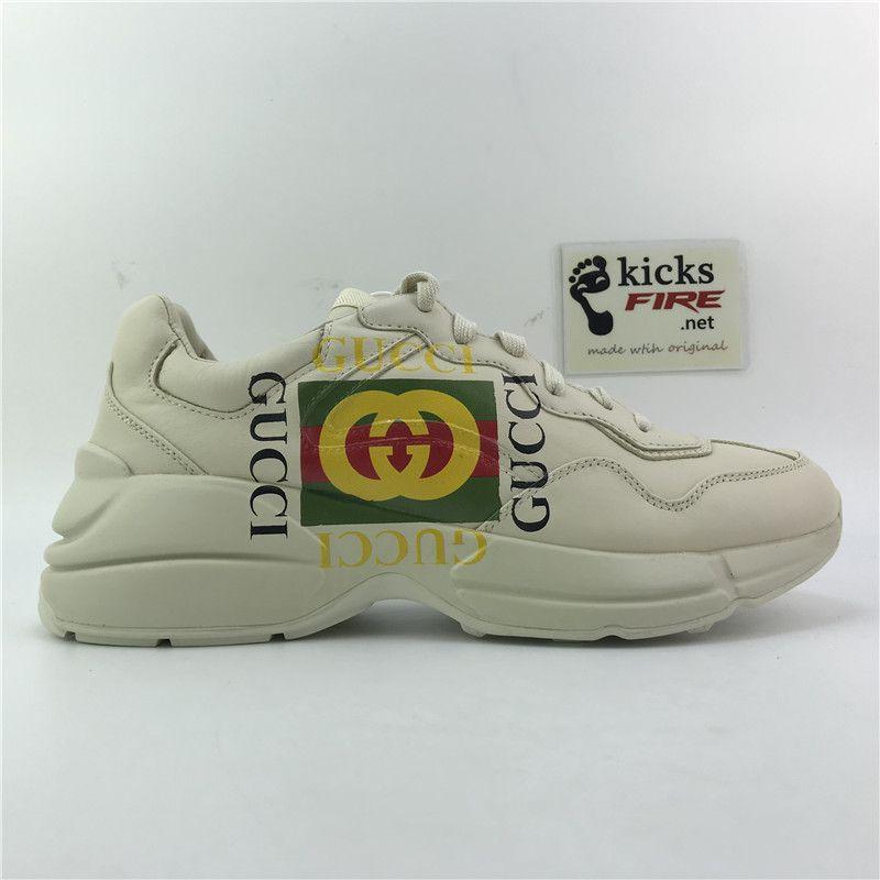 Gucci Rhyton leather sneaker 498916A9L009522 40-45