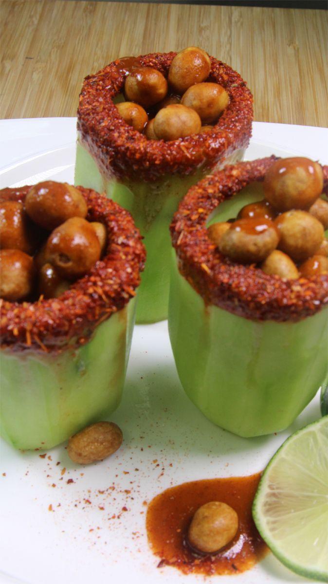 C mo hacer vasitos enchilados con cacahuates japoneses for Tipos de encielados