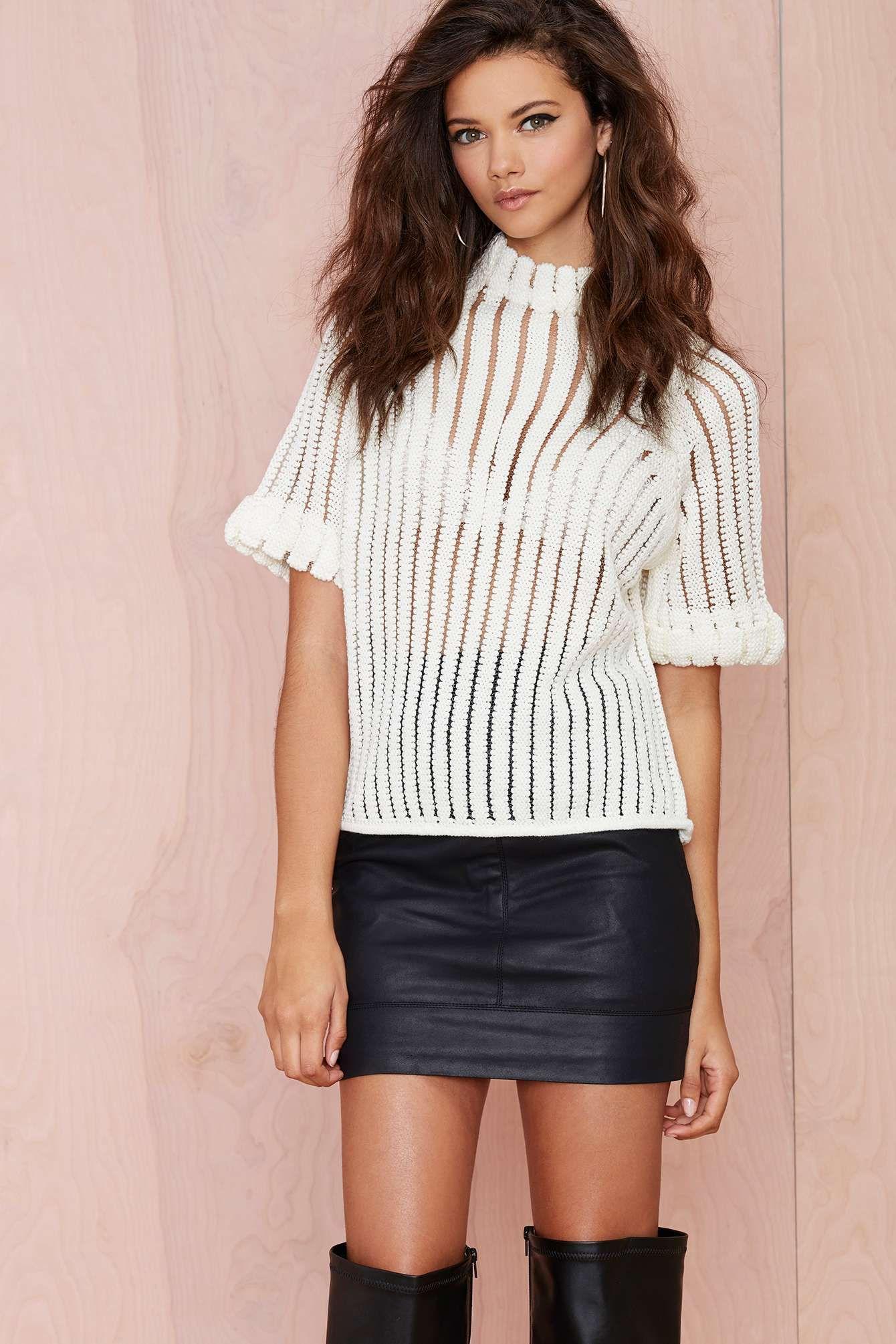 785318d53db Joa Penelope Shadow Stripe Sweater