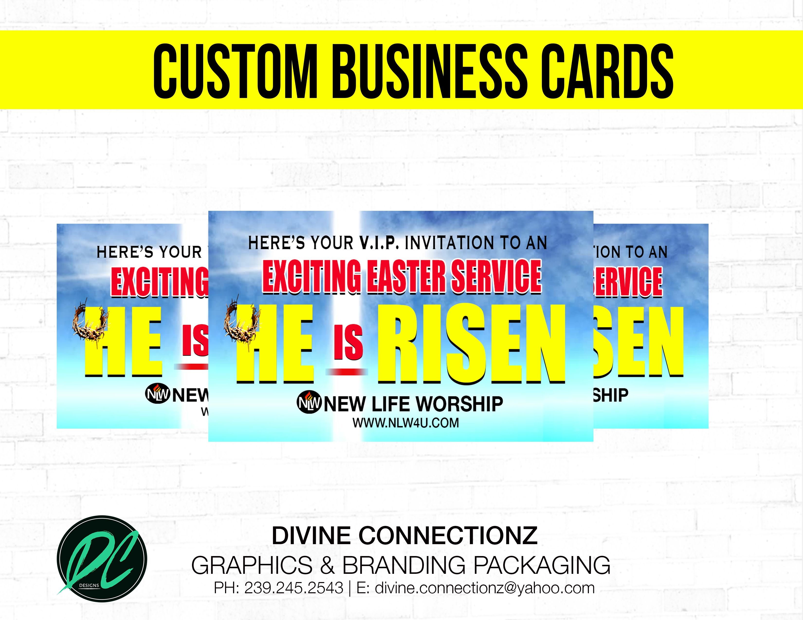 DC DESIGNS GRAPHICS & BRANDING PACKAGING SERVICES Business Cards
