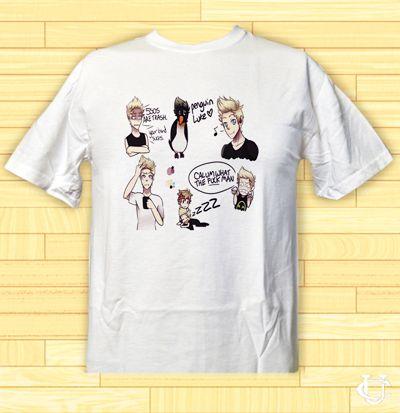 Cheap 5 seconds of summer Funny Design art T-Shirt