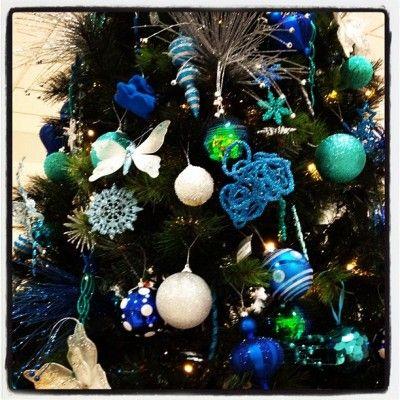 Christmas Colour Schemes Christmas colors, Christmas color scheme - blue and silver christmas decorationschristmas tree decorations