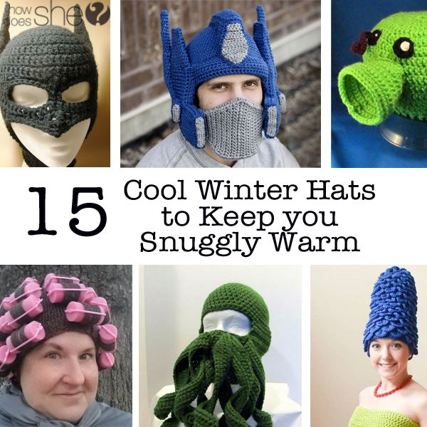 Cool Winter Hats to Keep You Warm All Season Long | Gorros ...