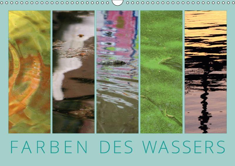 Die künstlerischen Fotografien zeigen unterschiedlche Färbungen von Wasser und komponieren dabei die Bilder als Gemälde.