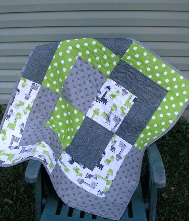 Lap Quilt Patterns Using Fat Quarters Baby Quilts Patterns Pinterest