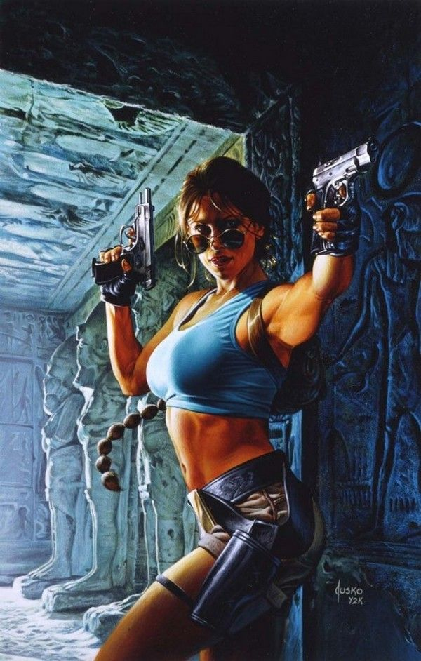 A Gallery Of Amazingly Detailed Comic Book Art From Joe Jusko