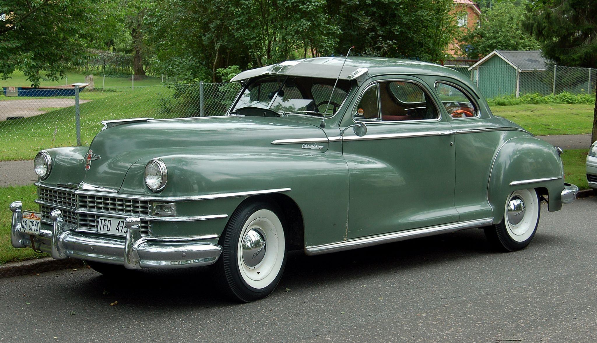 1948 Chrysler Windsor Chrysler Windsor Mopar Cars Classic Cars