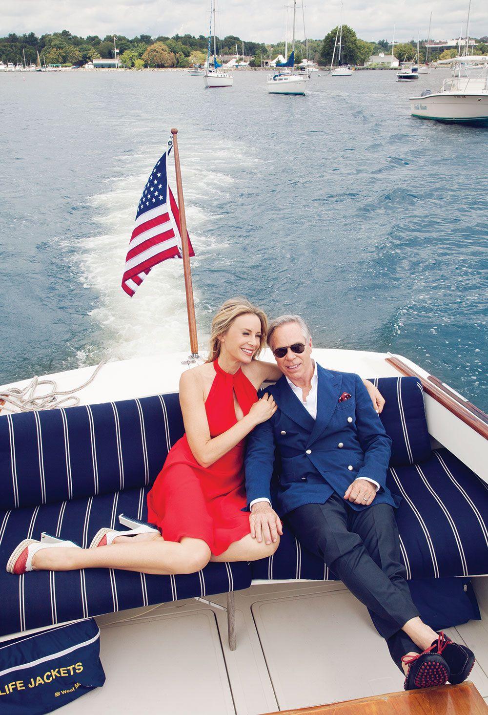 BestofYachtng #Fashion Dee and Tommy Hilfiger - AJ MacDonald - Yacht Broker  - ajmacdonald@camperandnicholsons.com | Tommy hilfiger, Tommy, Lady luxury  designs