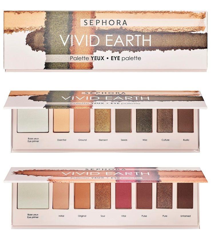 Sephora Vivid Earth Eye Palette For Spring 2019 Arrive In Two