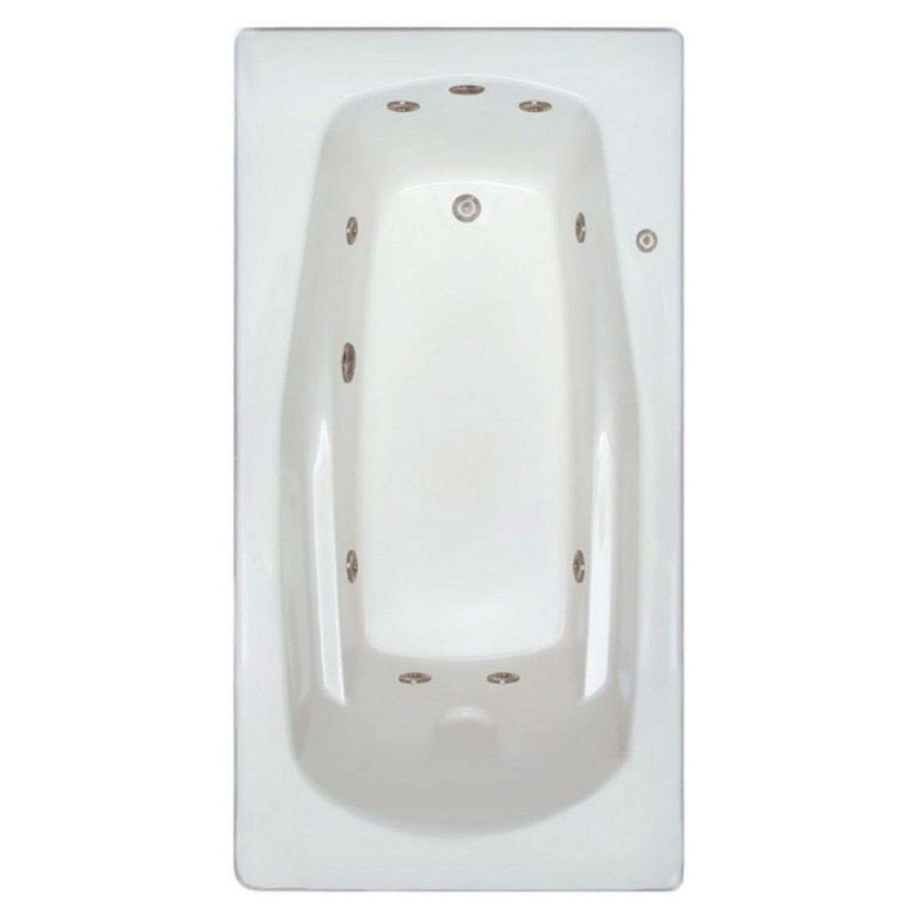 Signature Bath LPI229-W Drop-In Whirlpool Tub - LPI229-W-LD | Best ...