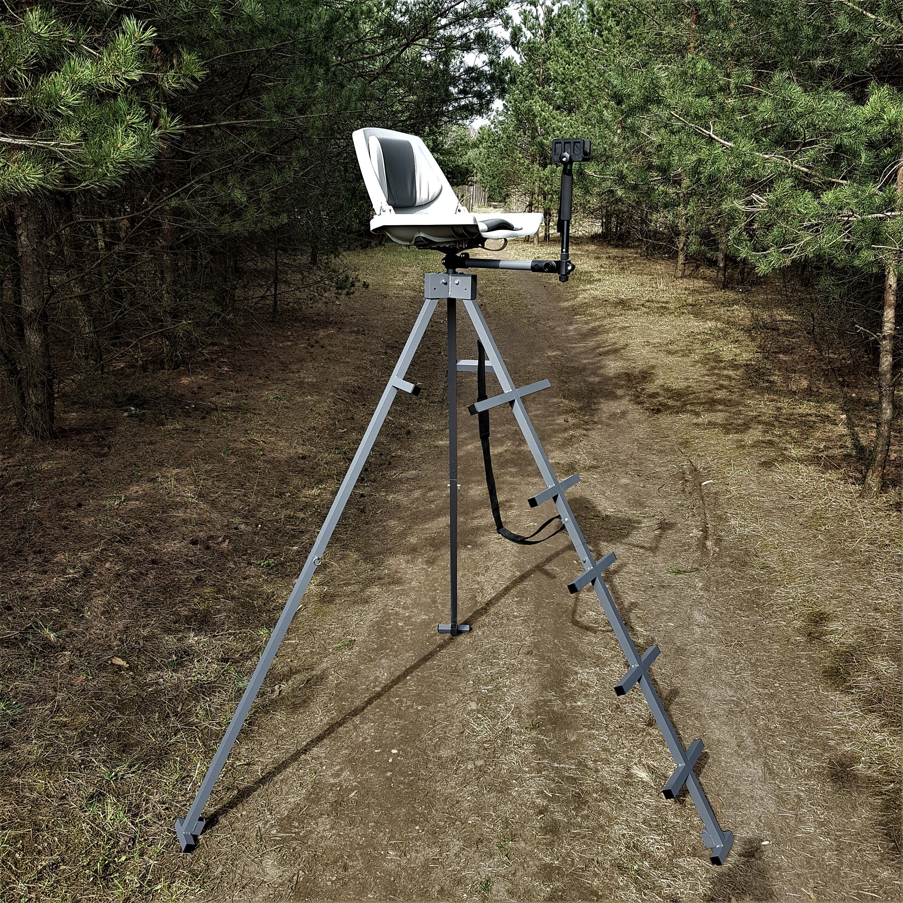 Hunting Stand Ultralight Portable Aluminium Tripod Your Stalking Game Success Comfort At Weight Only 11 K Hunting Stands Tripod Deer Stand Deer Stand
