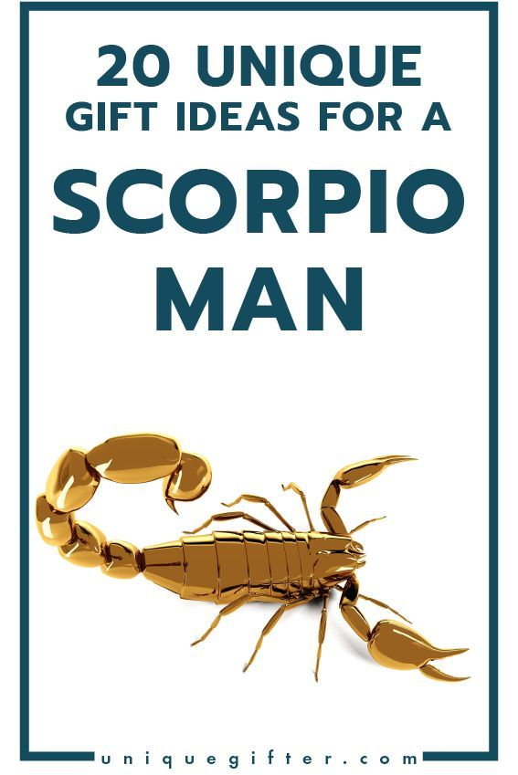 Superb Gift Ideas For A Scorpio Man