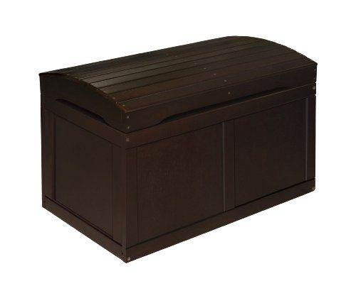 Soft White Kids Toy Chest Wood Box Bin Storage Organizer: Kids Storage Bench, Wood Toy