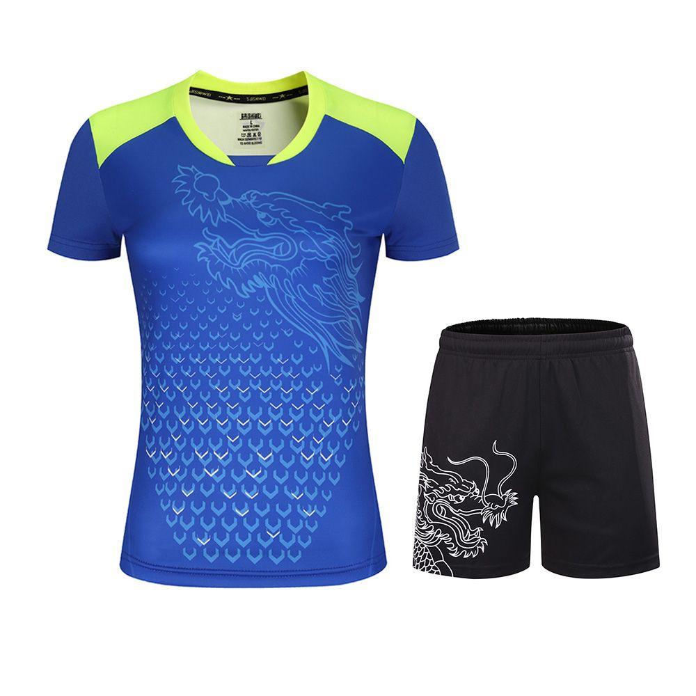 Table Tennis Sets Men Women Ping Pong Clothes Table Tennis Jerseys Table Tennis Shirts Shorts Sport Suits In 2020 Tennis Shirts Sport Suit Women Sports Suit