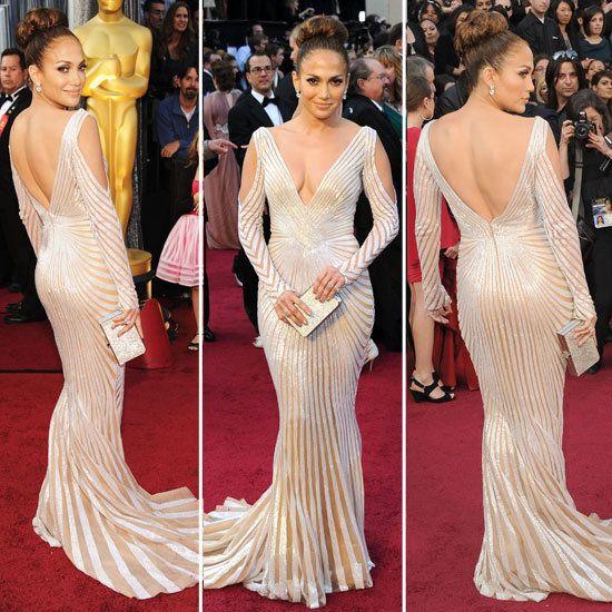 Jennifer López Oscars 2012.