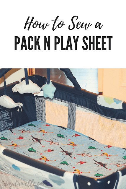 How to Sew a Pack N Play Sheet Pack and play, Pack n