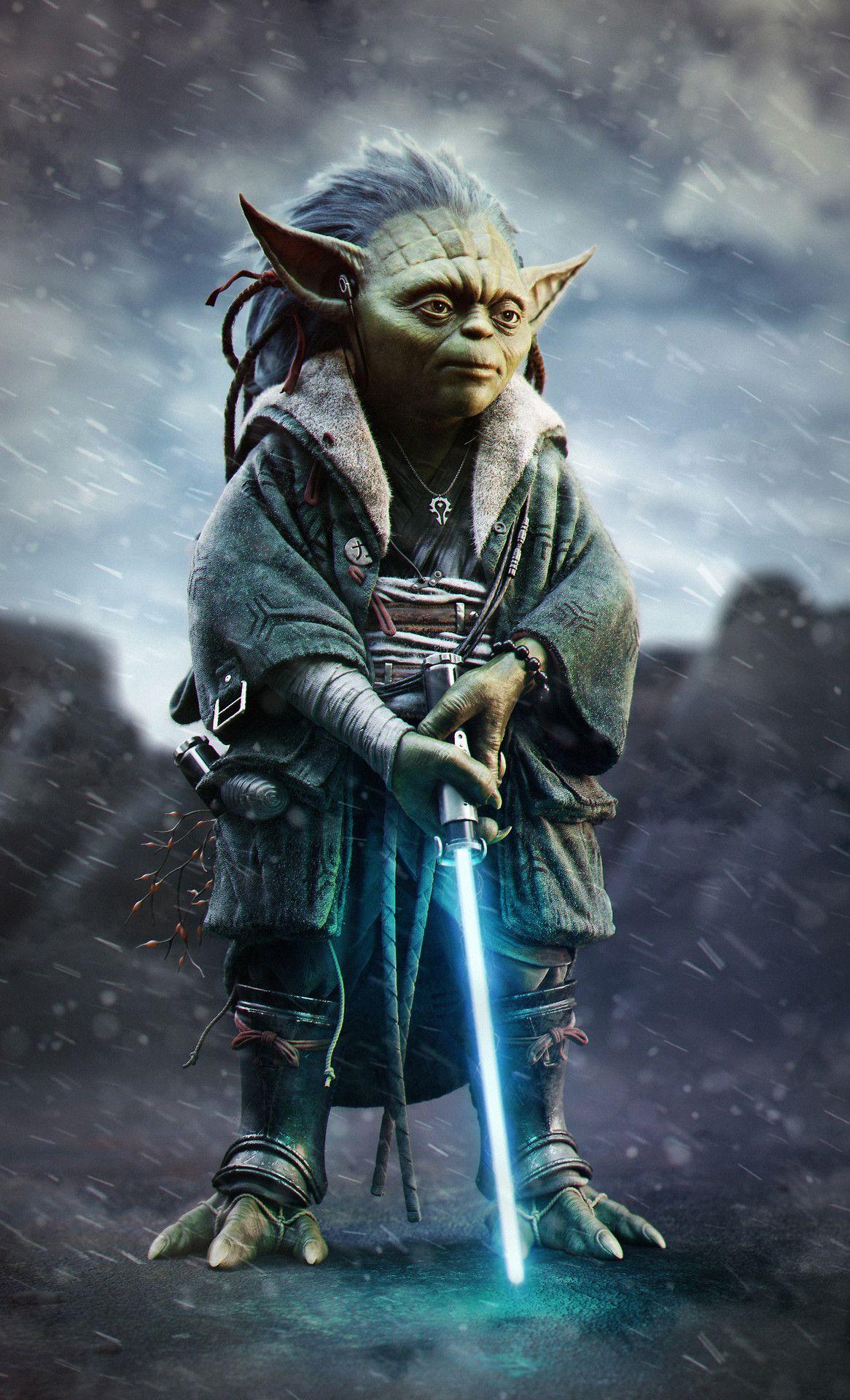 Young Yoda - Created Vincent Chambin Jedi Star Wars