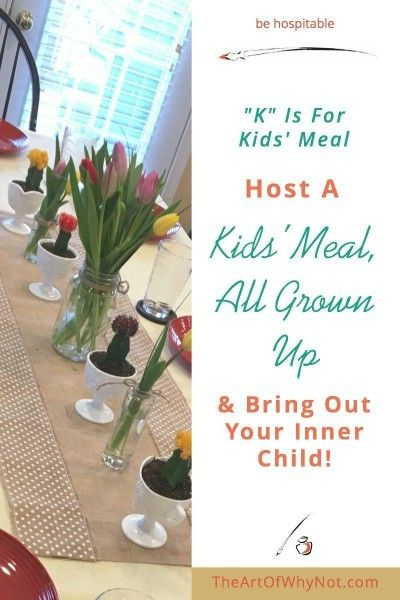 """Entertain Your Inner Child With A Kids' Meal, All Grown Up! - The Art of """"Why Not?"""" - http://www.theartofwhynot.com/kids-meal-grown/"""