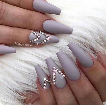 Pin on free   Nails design with rhinestones, Nail designs