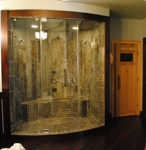 Custom curved glass shower door bathroom ideas pinterest custom curved glass shower door planetlyrics Image collections