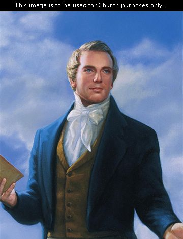 """The Lord said He would """"set up a kingdom, which shall never be destroyed: and the kingdom shall not be left to other people…and it shall stand for ever."""" Daniel 2:44    (Joseph Smith) Brother Joseph, by David Lindsley 2 Nephi 3:6–15; Doctrine and Covenants 5:9–10; 21:1–5; 27:13; 135:3; Joseph Smith—History"""