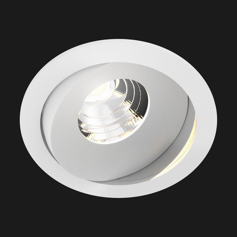 Spot Titan Mix Round Blanc 28 2700k 836lm O9 2cm H6 8cm Anti Glare Doxis Luminaire Spots Luminaire Design