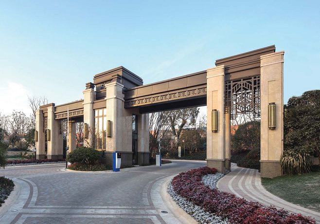 Pin By Bld On 岗亭 Entrance Gates Design Entrance Design Gate Design