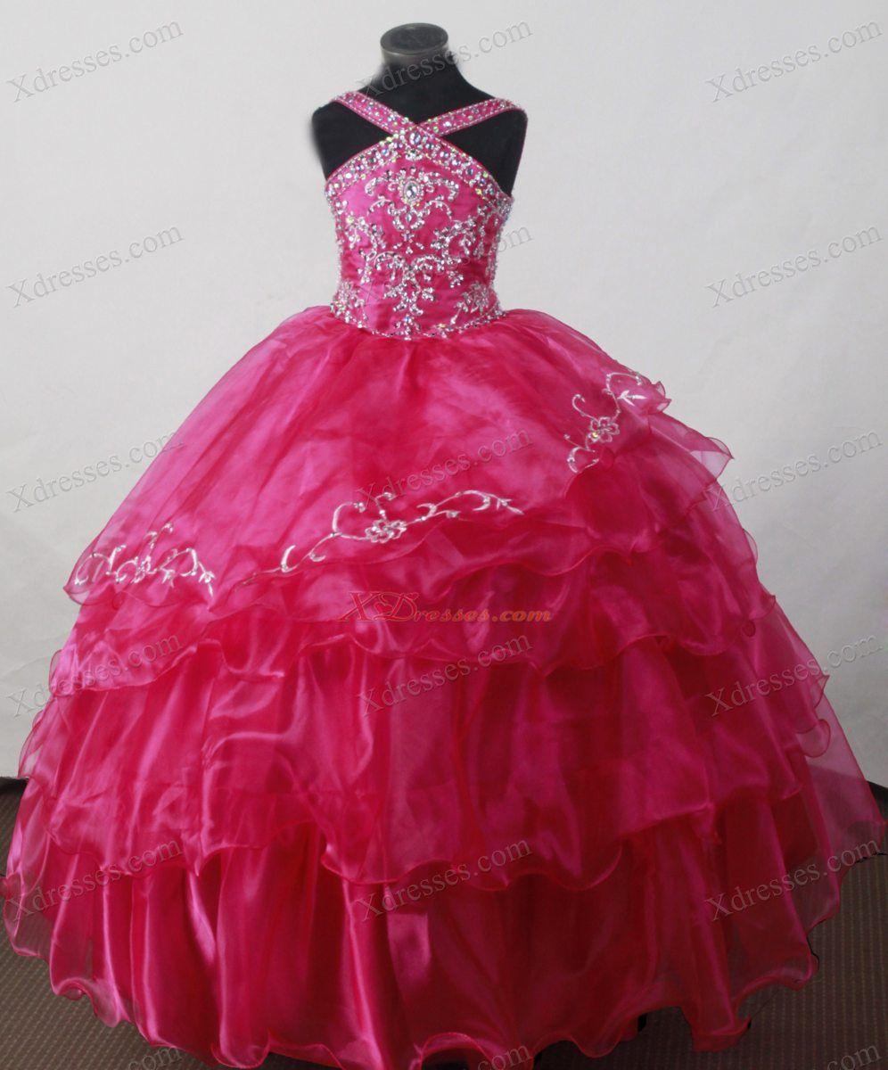 Princess Ball Gown Dresses - GirlsDressLine.Com