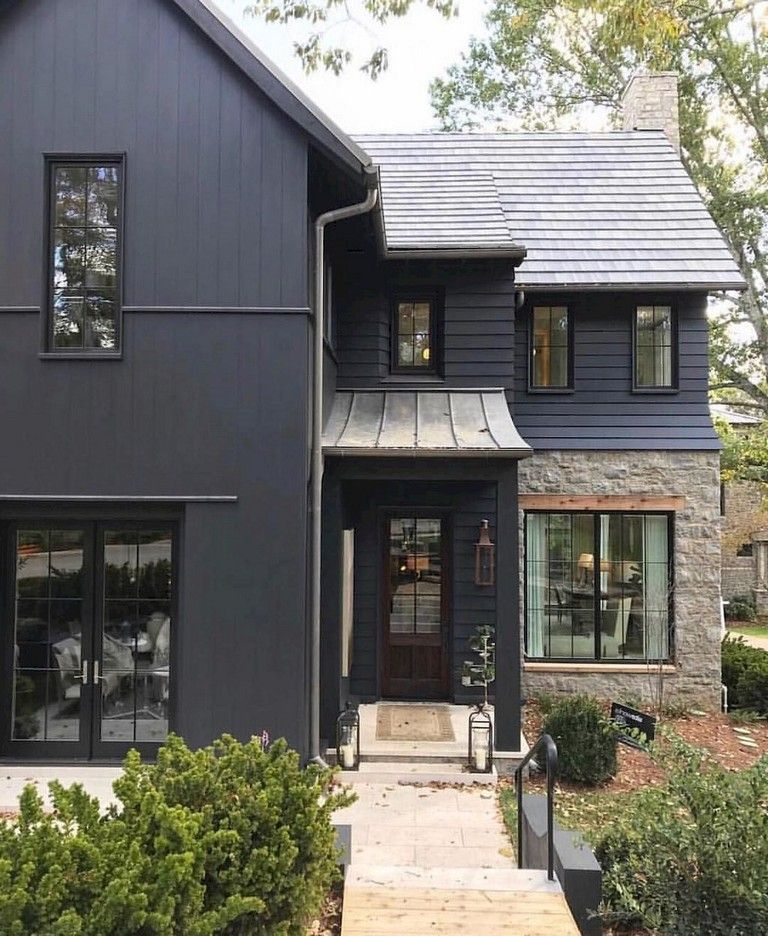 Modern Homeexterior Design Ideas: 35 Exciting Modern Farmhouse Home Exterior Design Ideas