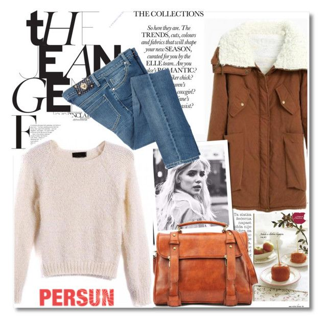 """Persunmall"" by vict0ria ❤ liked on Polyvore featuring Moschino, persunmall and persun"