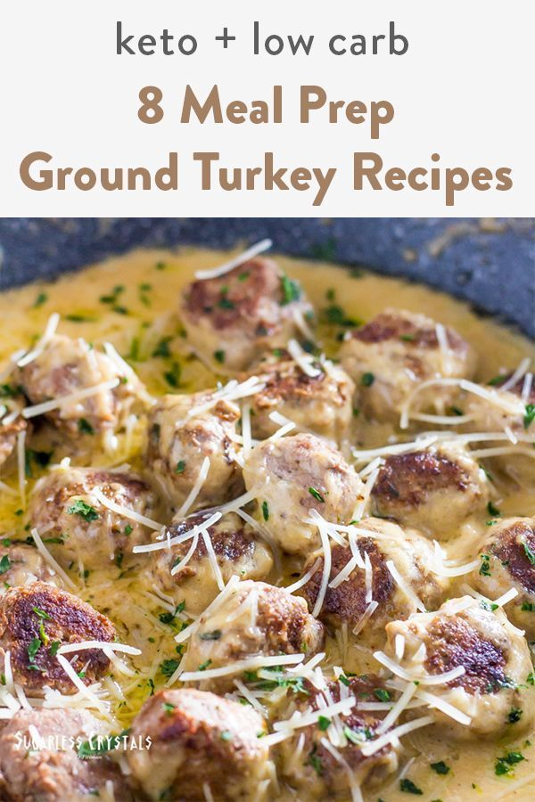 8 Meal Prep Keto Ground Turkey Recipes