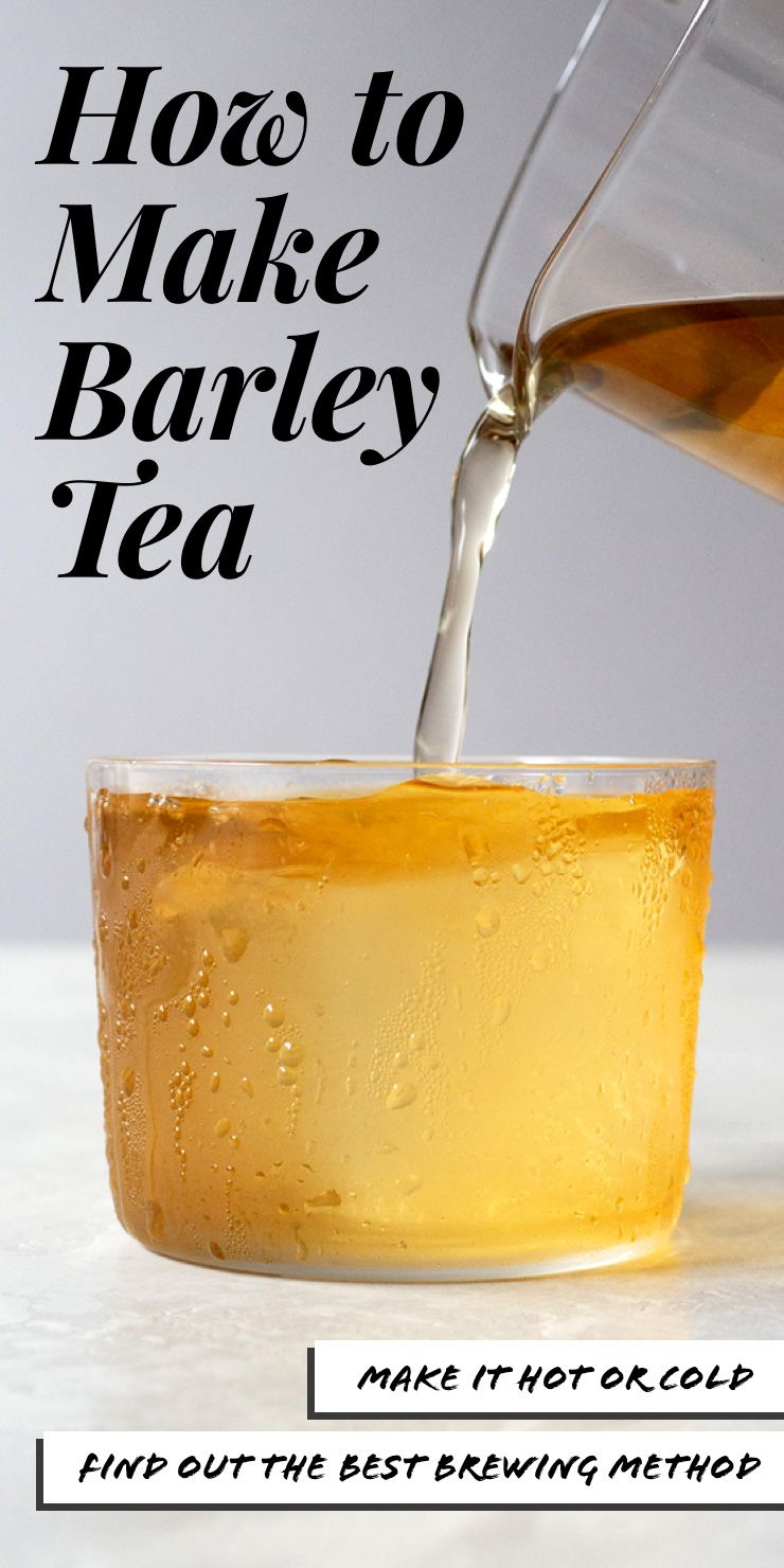 See the best ways to make barley tea properly. Summer