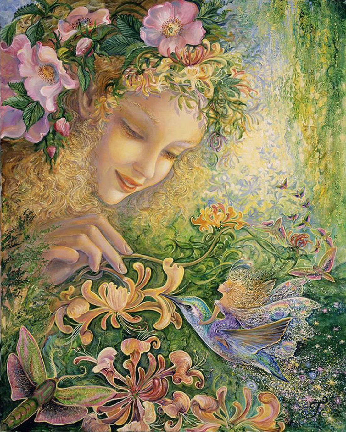 Image result for josephine wall art honeysuckle