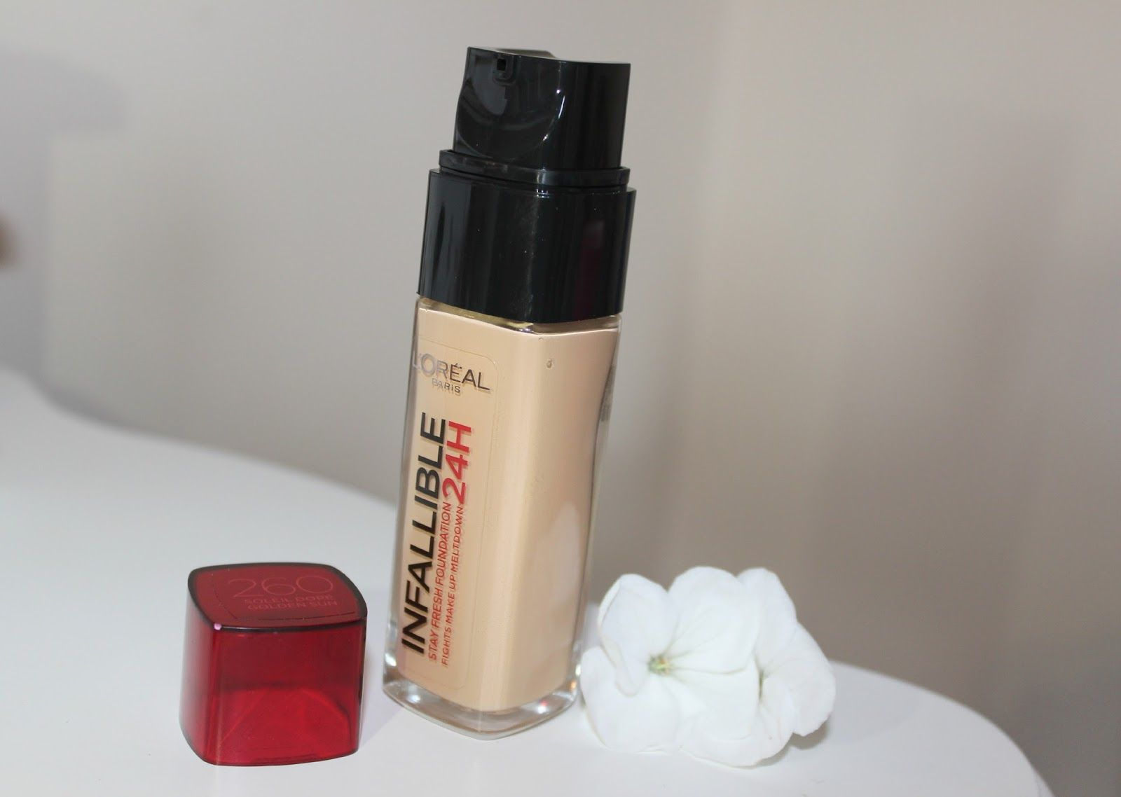 Colour care foundation - L Oreal Infallible Foundation 24hr In 260 Golden Sun Is Around The Same Colour As