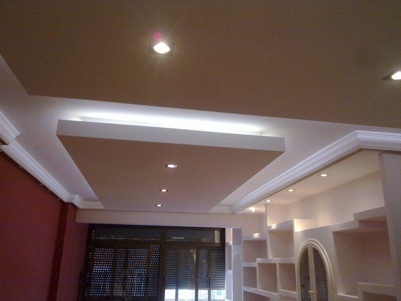 Falso techo pladur luz indirecta buscar con google - Luz de techo ...