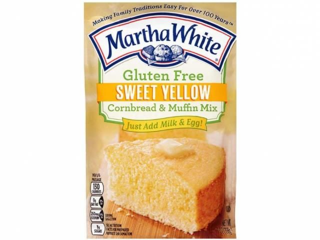Martha White Gluten Free Sweet Cornbread Muffin Mix has ...