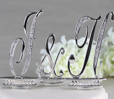 """Click here: http://www.jalisbridal.com/a91015.html $73...3"""" Silver Letters"""