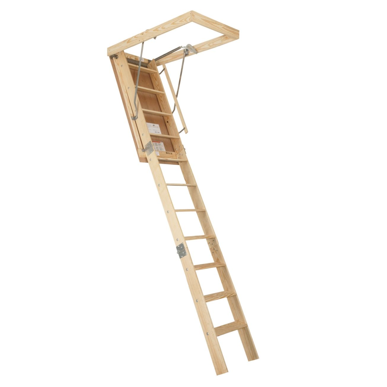 Century® Premium Heavy Duty 8Ft 9In Wooden Attic Stairway (AET-89) - Attic Ladders - Ace ($160)