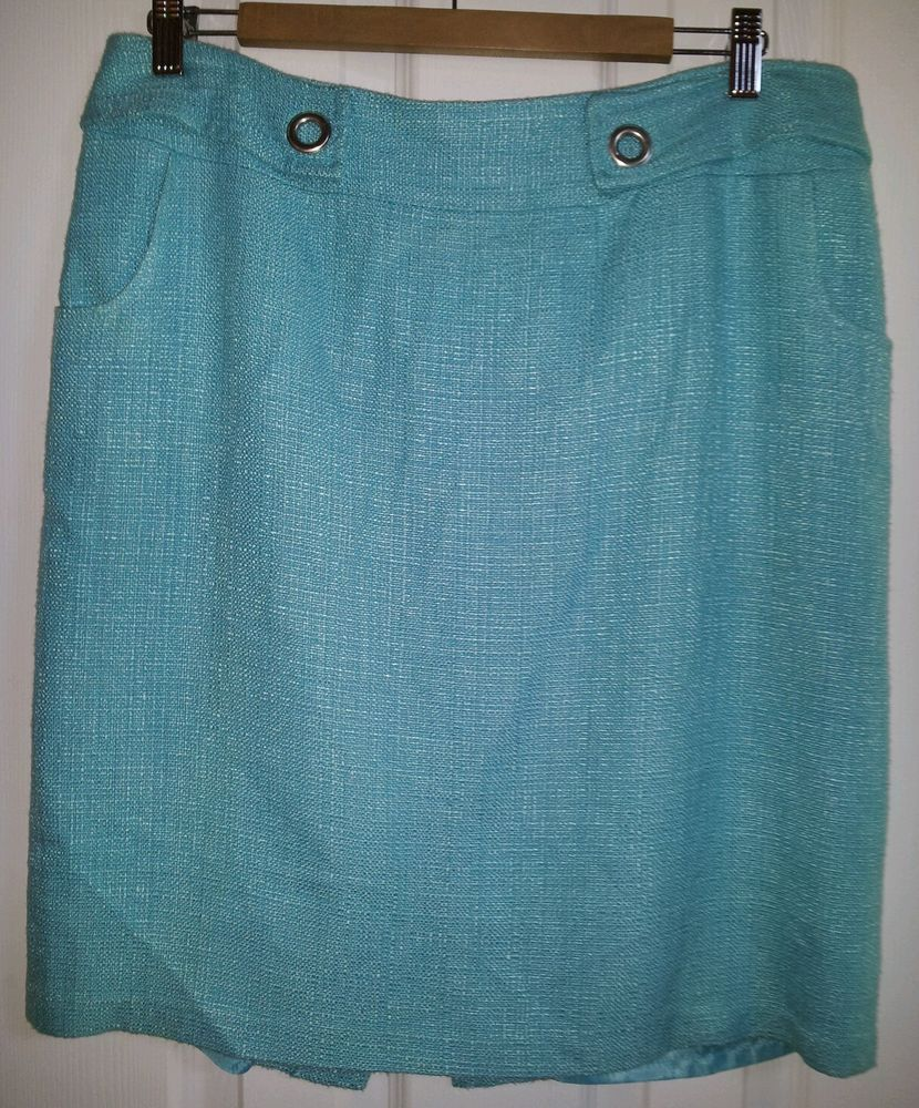 Cato size 12 skirt blue