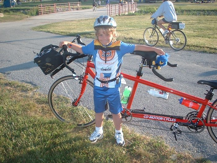Never Too Early To Start His First Bicycle Adventure 300 Mile