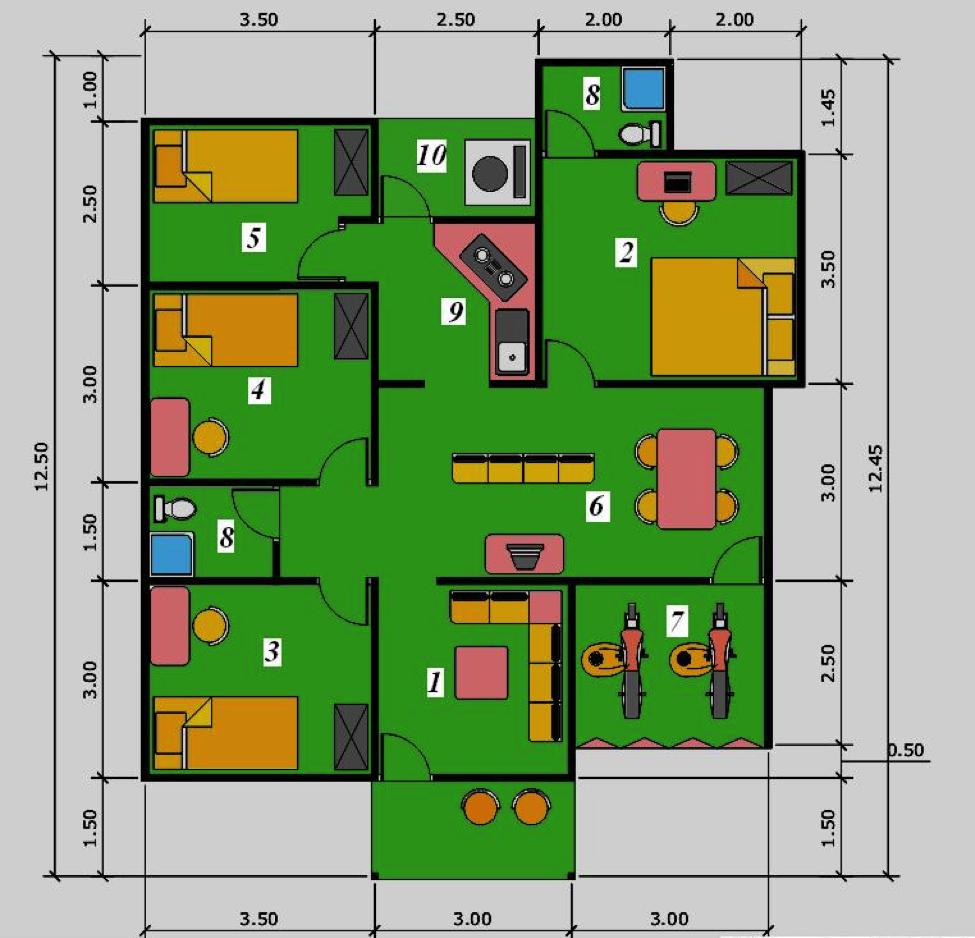 Kumpulan Desain Rumah Dengan Kolam Renang Lantai 1 Gratis Terbaik