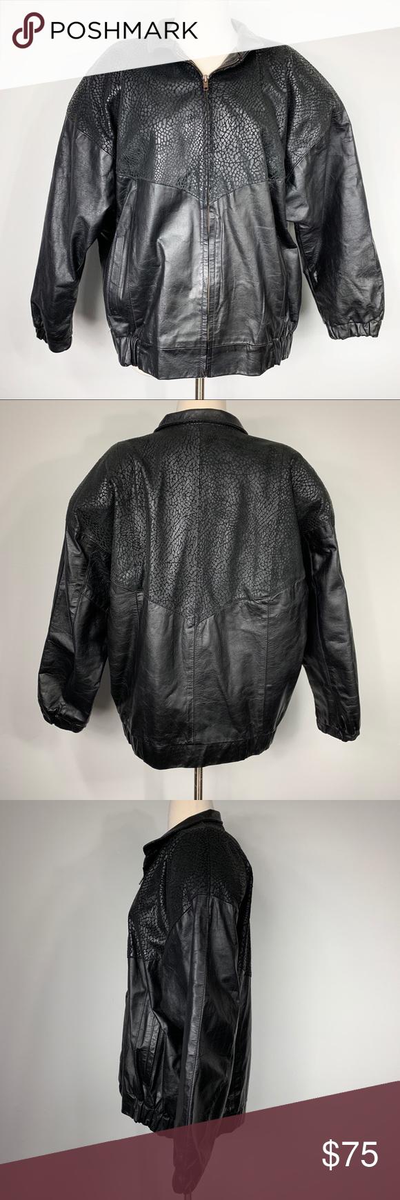 Vintage Oversized Leather Croc Embossed Bomber Vintage Comint Black 100 Genuine Leather Croc Embossed Ov Bomber Jacket Vintage Genuine Leather Jackets Jackets [ 1740 x 580 Pixel ]