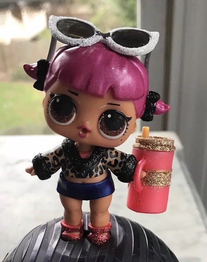 LOL Surprise CHERRY Glam Glitter Series 2 /& Lil Cherry Toy Collection Dolls Toys