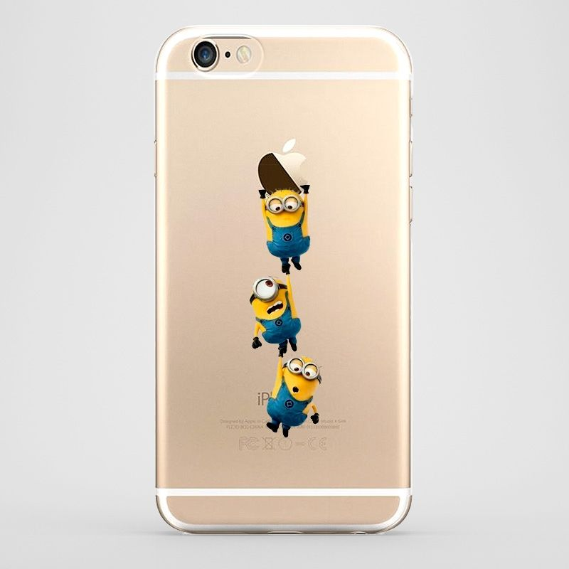 f4eb3db2fb7 Funda para iPhone 6 de Minions perfecta para regalar estas navidades. Un  detalle original para un #amigo #invisible #iPhone #funda #regalo #original