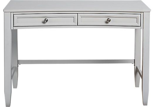 Shop For A Jaclyn Place Gray Desk At Rooms To Go Kids