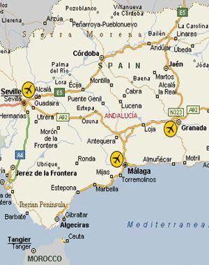 Airports near Marbella Spain Spain Pinterest Marbella spain
