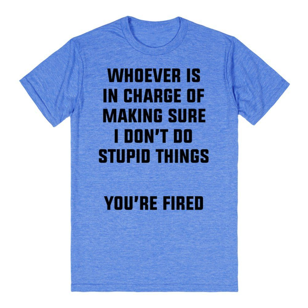 You're Fired