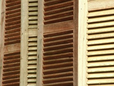 How To Refinish Outdoor Wood Shutters Wood Shutters Wood